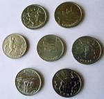 Набор монет 2000г.