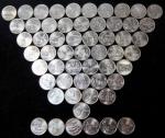"""Набор 25 центов """"Штаты и территории США"""""""
